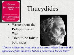 ancient ii peloponnesian war alexander the great pericles  thucydides wrote about the peloponnesian war tried to be fair to both sides