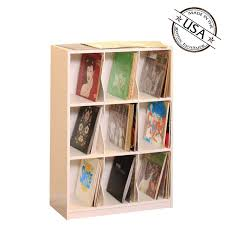 Gothic Cabinet Craft - LP Record Rack, 3 Shelf with Base, $249.00 (http