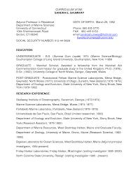 College Resume Objective Professor Resume Objective Savebtsaco 16