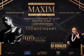 houston super bowl parties 2017 maxim dj khaled hip hop travis scott