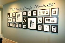 multiple picture frames family. Multiple Picture Frames On Wall Photo Collage Ideas For Walls . Family O
