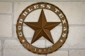 metal art god bless texas 1836 star on texas star metal wall art with texas metal art