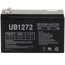 sla 12 volt 7 2 ah f1 terminal battery