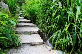 Symbole zeigen abmessungen der jeweilgen treppe, wie durchmesser, die steigungshöhe der treppenstufen und angaben zur maximalen raumhöhen. Gartentreppe Aus Naturstein Selber Bauen Anleitung