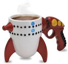 ray gun alien coffee mug for 2016 unique gift ideas