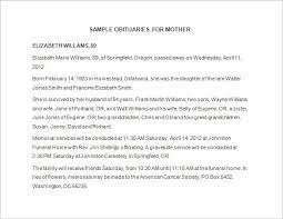 Obituary Template Word Under Fontanacountryinn Com