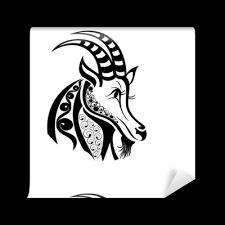 Tapeta Znamení Zvěrokruhu Kozoroh Tetování Design Pixers žijeme Pro Změnu