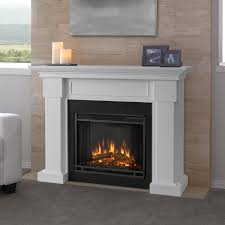 real flame electric fireplace hillcrest white fireplacereal free