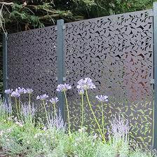 branches garden screen powder coated