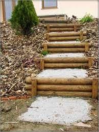 Wir sind experten in holztreppenherstellung. Ha Lzerne Treppen Garten Landschaftsbau Steine In 2020 Garten Landschaftsbau Garten Stufen Garten