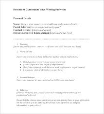 Resume Personal Interests Examples Stunning Personal Interests Examples Resume Personal Interests Resume
