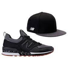 new balance x new era 574 sport. men\u0027s new balance 574 sport x era 9fifty hat and casual shoes