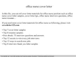 office nurse cover letter in this file you can ref cover letter materials for office cover letter sample sample cover letter for office job