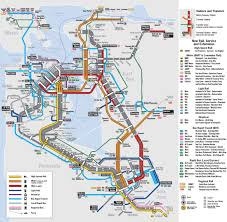 San Jose Light Rail Map Bay Area 2050 The Bart Metro Map Future Travel