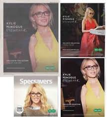 kylie minogue cuttings collection specsavers adverts  image is loading kylie minogue cuttings collection specsavers adverts