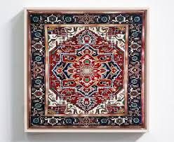 modern persian carpet intended for artist s rug paintings will make you do a double take curbed decor 18