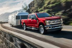 what are the 2019 ford super duty lineup s best in cl maximum towing ratings