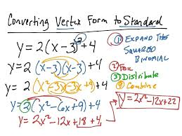 standard form to factored form calculator math convert vertex form to standard form calculator math calculator