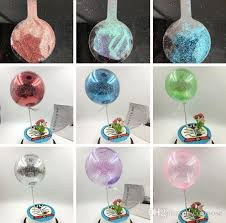 glitter mini bobo balloons with stand 10 inch cake decoration diy wedding birthday party decoration balloons helium bobo balloons decorations birthday party