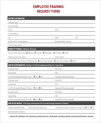 Sample Training Quotation Extraordinary 44 Sample Training Request Forms Sample Templates
