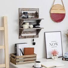 decorative wall shelf organizer
