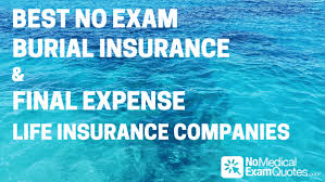 Final Expense Life Insurance Quotes Impressive Best No Exam Burial Insurance Final Expense Life Insurance