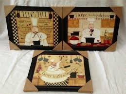 fat chef italian bistro cafe home kitchen interior plaque picture lot decor set fat cook kitchen decor