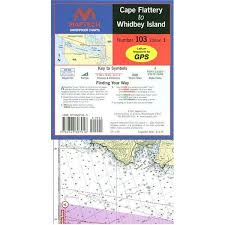 Waterproof Charts Cape Flattery To Whitney Island Waterproof Chart By Maptech Wpc103