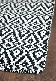brown and white area rug black white brown area rug