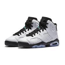 air jordan shoes for girls black. 2017 air jordan 6 gs hyper jade black white girls size for sale-4 shoes m