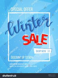 Winter Flyer Template Winter Sale Banner Poster Flyer Template Stock Vector 24 14