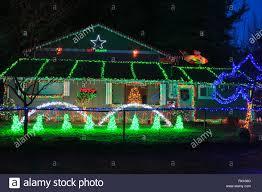 Christmas Light Displays Washington State House In Mountlake Terrace With Extensive Christmas Light