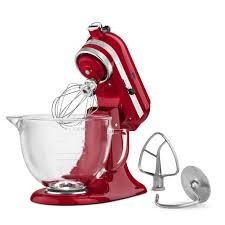 Designer Kitchen Aid Mixers Amazoncom Kitchenaid Ksm155gbtf Artisan Design Series With Glass