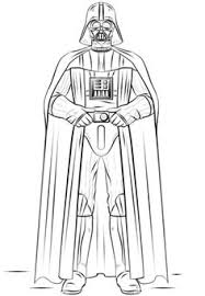 Small Picture Darth Vader outline for Star Wars party Pinteres