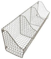 wall mounted wire baskets wall mounted wire basket