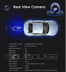 FREE SHIPPING CMOS Car Rear View Back Reverse Backup rearview ...