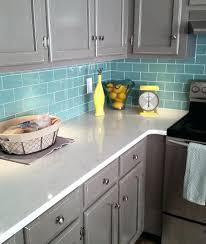 kitchen backsplash blue subway tile. Blue Subway Tile Backsplash Sage Green Glass Kitchen Grey L