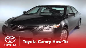 2007 - 2009 Camry How-To: If Your Vehicle Won't Start (XLE with ...