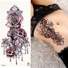 719 3 Pcs Dočasné Tetování Hladká Nálepka Bezpečnost Paže Rameno Lepenkový Papír Deskové Dočasné Tetování