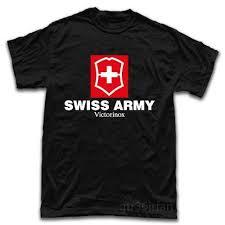 Swiss Army Knife Size Chart Swiss Army Knife Tools Logo New T Shirt Custom Shirt Black Shirts From Amesion91 12 08 Dhgate Com