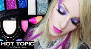 fotd blackheart beauty 80 s glam rock intoxicating mega crush glitter edge