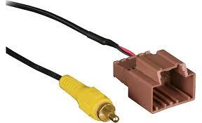 metra backupcam backup camera cable retain the factory backup camera  at Ford Wiring 2015 Camera To 2011 Harness