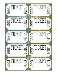Print Raffle Tickets At Home Raffle Tickets Template Free Online Download Raffle Ticket