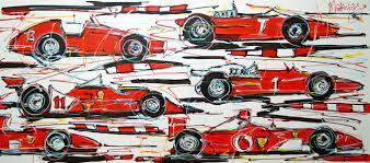 Mathias Study Of Painting F1 History Ferrari Cars Catawiki