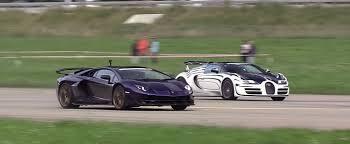 126 likes · 1 talking about this. Lamborghini Aventador Svj Drag Races Bugatti Veyron Grand Sport Vitesse Shines Autoevolution