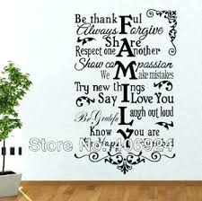 wall decals family quotes wal large  on bedroom wall art phrases with family quotes wall stickers igorzakus