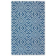 value city furniture area rugs salon zigzag 5 x 8 rug blue and