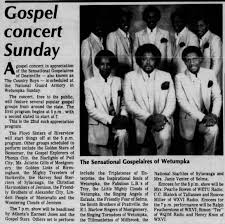 Baha'i Ralph Featherstone in gospel concert as one of the MCs - WXVI -  Newspapers.com