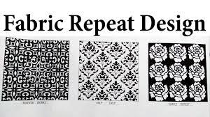 Repeats In Textile Designing Fabric Repeat Design Repeat Design Patterns Textile
