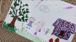 Ideas For Making Diwali Charts Diwali Chart Paper Making Idea For Classroom Decoration